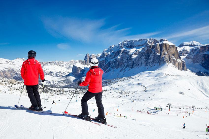 JANUARY   Dolomites Alps in Italy   italycreative.it