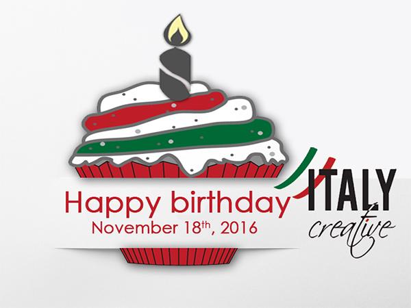 Italy Creative| Happy birthday 2016