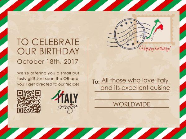 Italy Creative | Happy birthday 2017