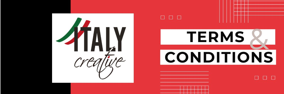 Terms and Conditions Italy Creative