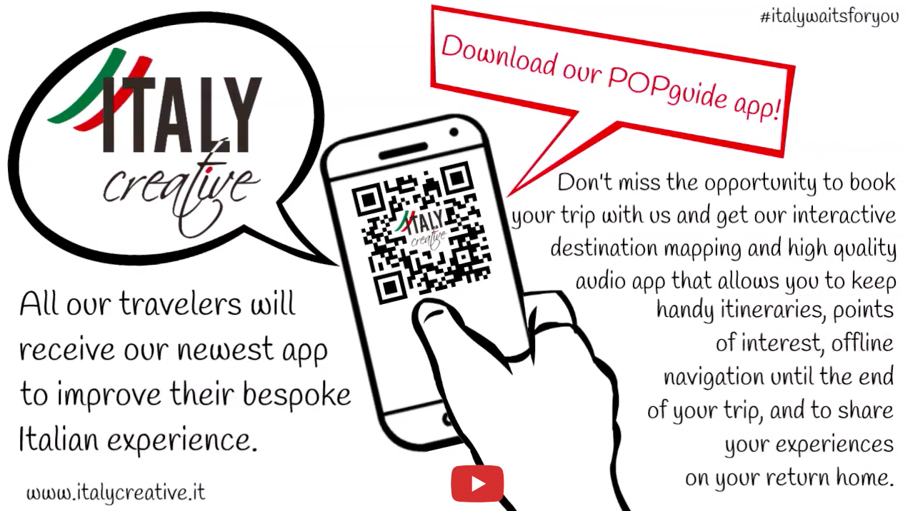 Italy Creative video: POPguide app now available