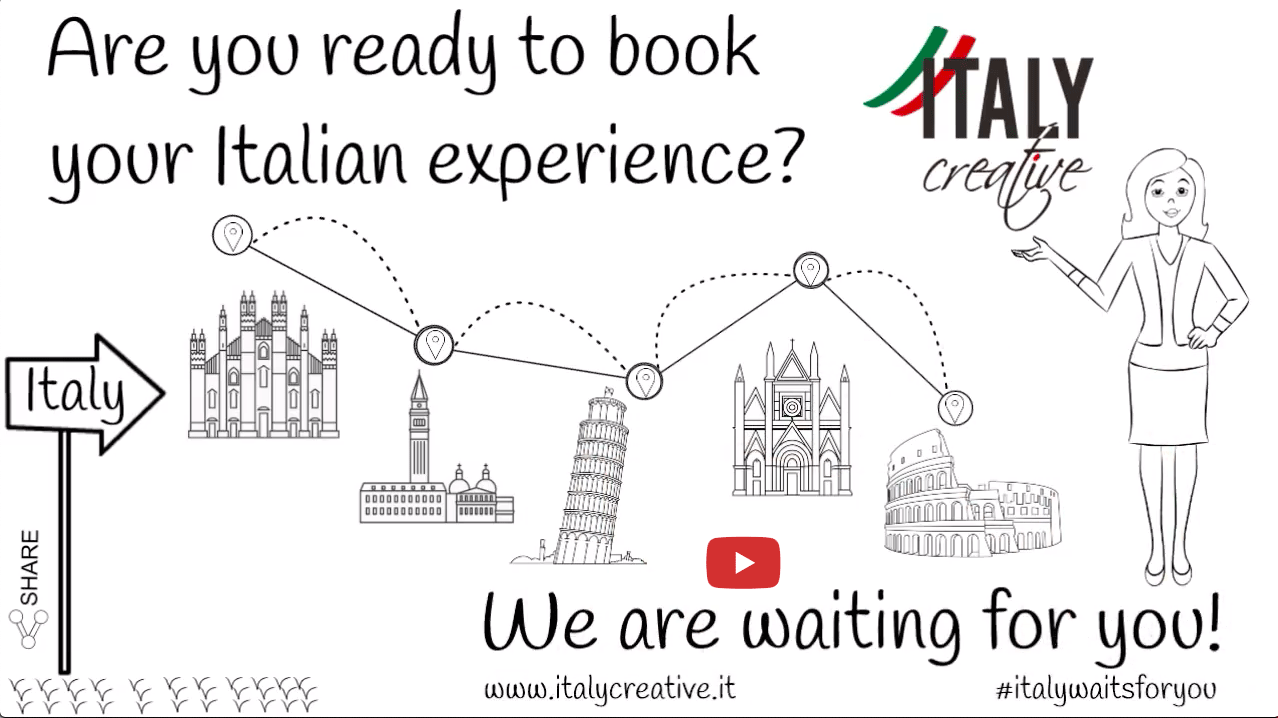Italy Creative video: we are waiting for you