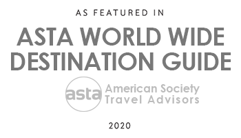 As featured in Asta World Wide Destination guide 2020