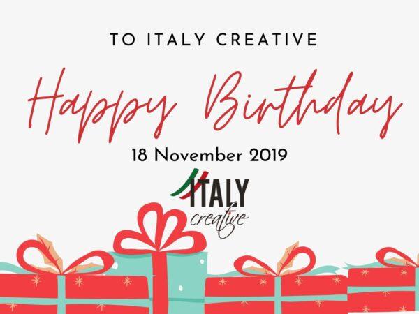 Italy Creative | Happy birthday 2019