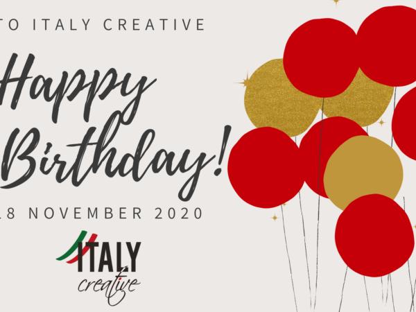 Italy Creative | Happy birthday 2020