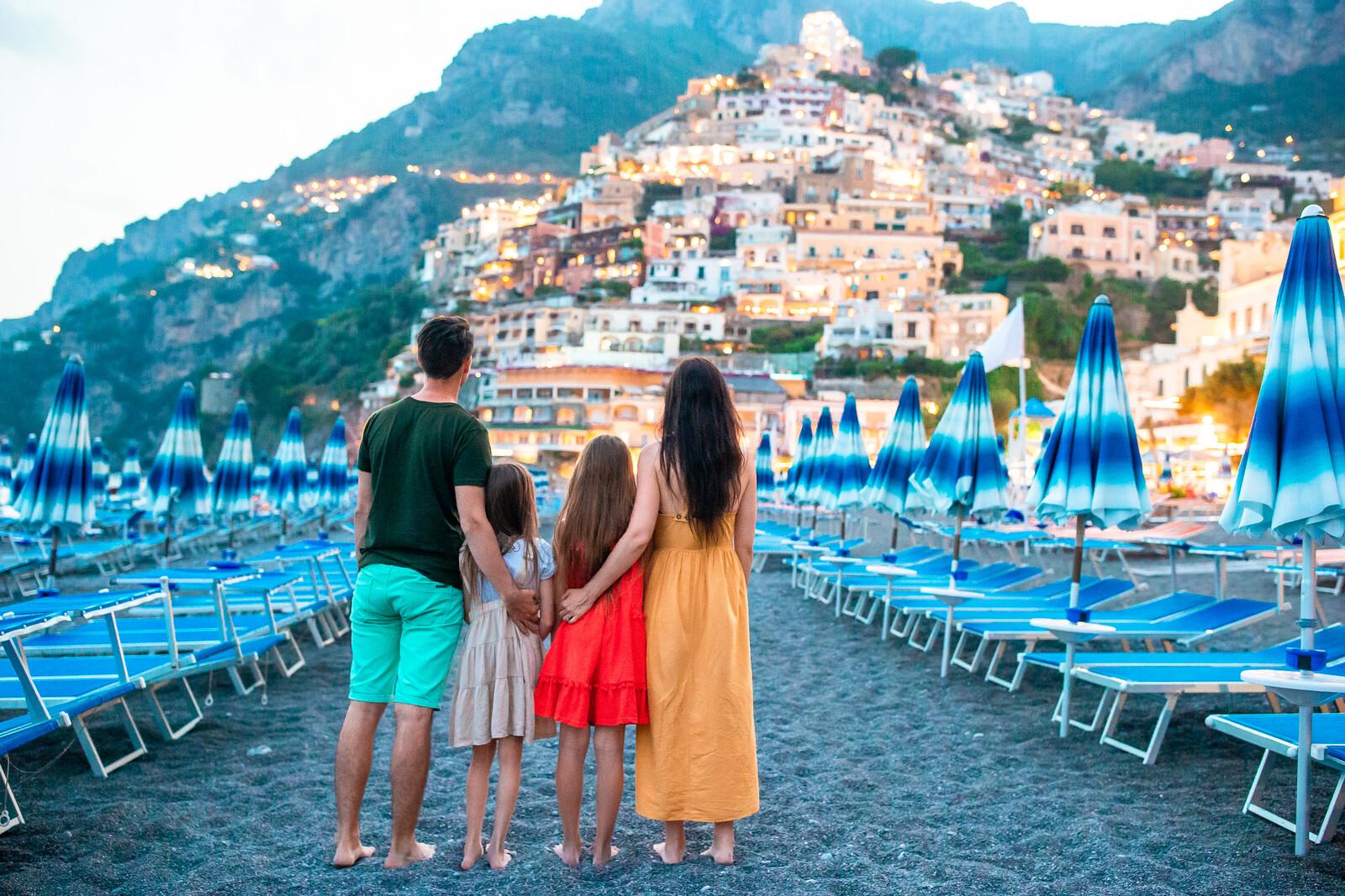 Family vacation in Rome Naples Amalfi Coast 10-day