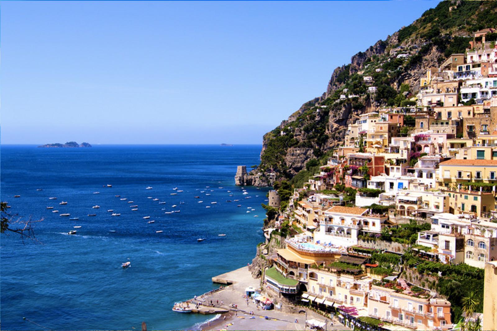 Reward yourself on the fascinating Amalfi Coast 10-day